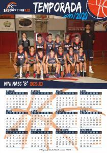 11 Calendari Mini Masculí B