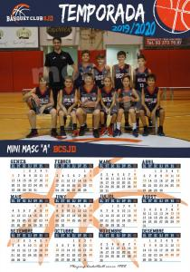 12 Calendari Mini Masculí A