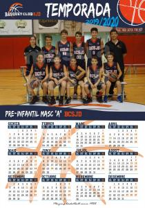 14 Calendari PreInf Masculí A