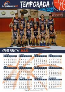 19 Calendari Cadet Masculí A