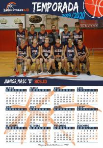 22 Calendari Junior Masculí B