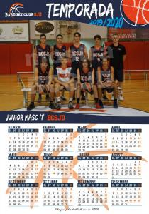 25 Calendari Junior Masculí 1