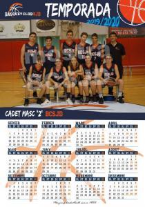 20 Calendari Cadet Mascuclí 2